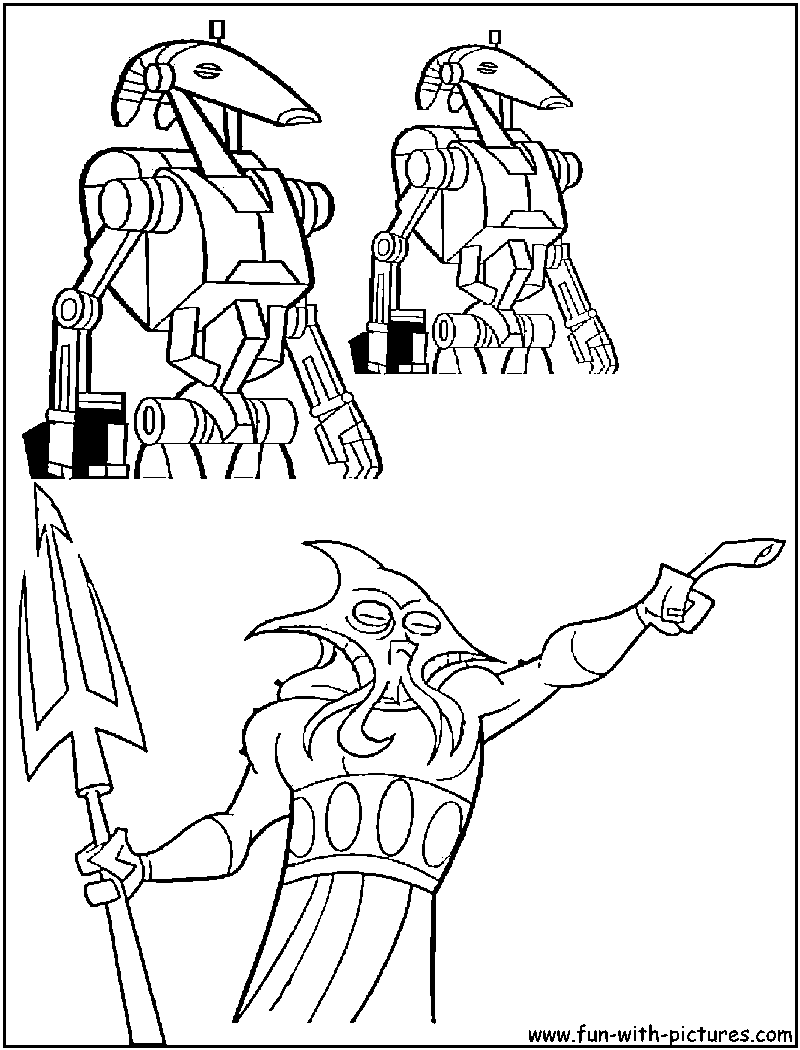 kraang coloring pages - photo#9