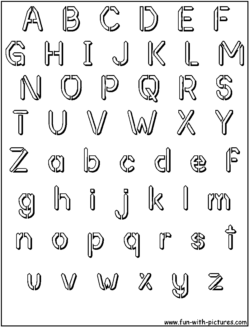 lettering stencils free