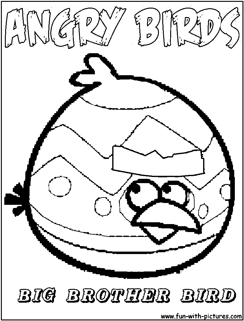Angry Birds Coloring Pages - Free Printable Colouring Pages for ...