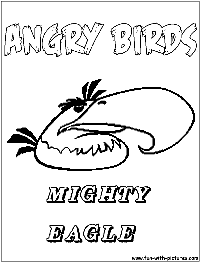 mighty eagle coloring pages - photo#6
