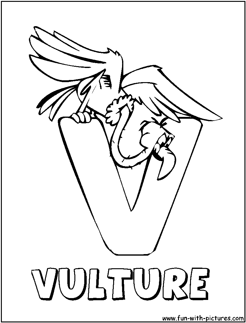 Alphabets Animals Coloring Pages - Free Printable Colouring Pages ...