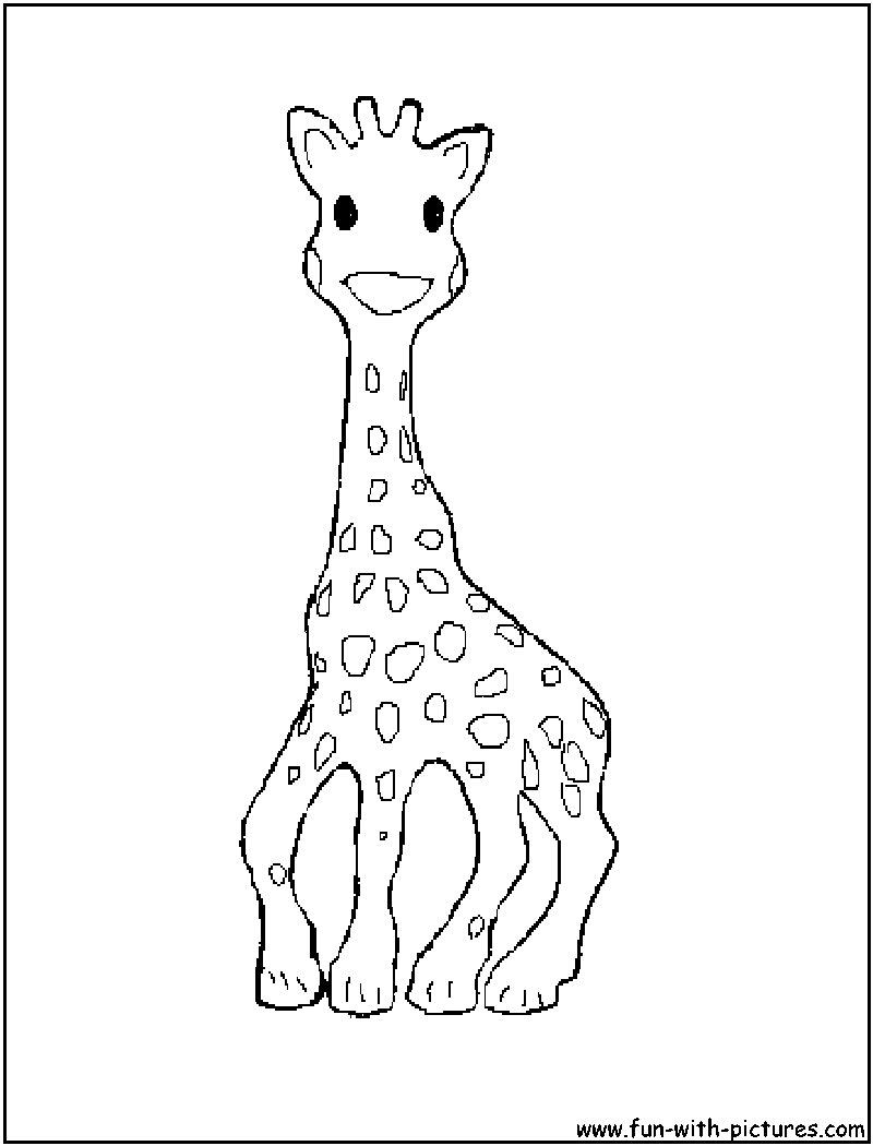Baby Animal Picture Coloring Page1
