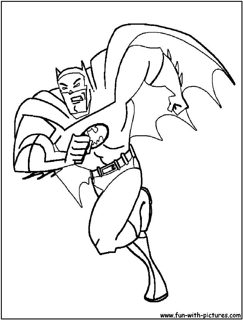 Batman Braveandthebold Coloring Page