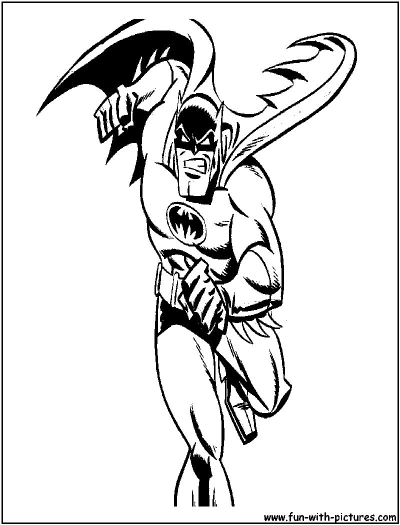 Batman Thebraveandthebold Coloring Page