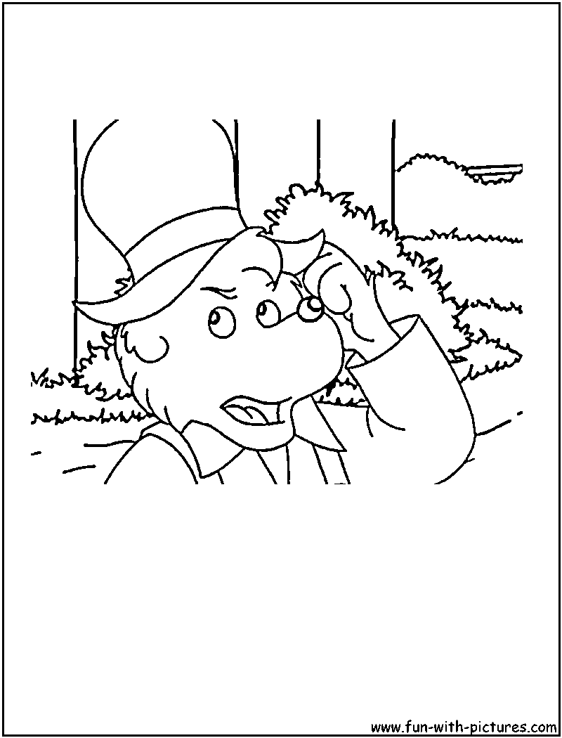 bernstein bear coloring pages - photo#14