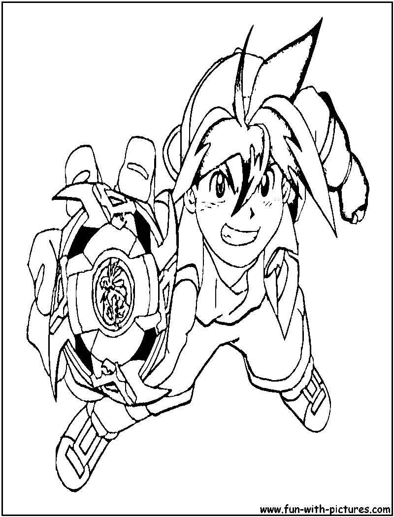 Beyblade Coloring Pages - Free Printable Pictures Coloring Pages For ...
