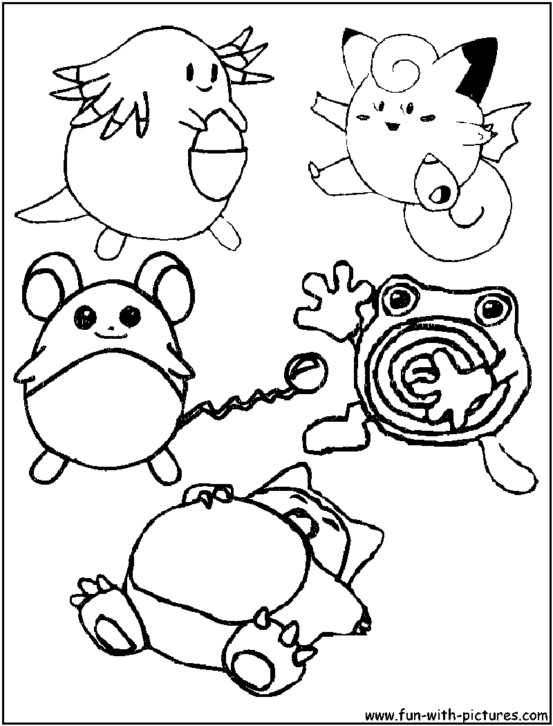 more pokemon coloring pages free printable colouring pages for