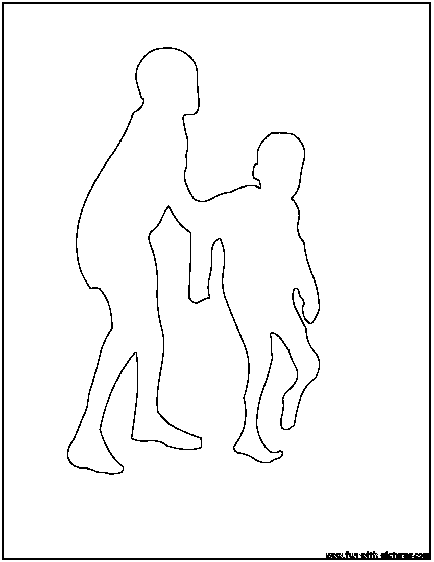 Boy outline page coloring pages for Boy outline coloring page