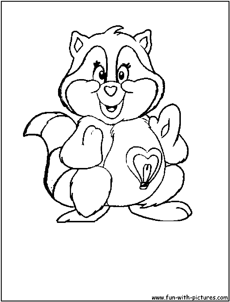 care bears cousins coloring pages - photo#2