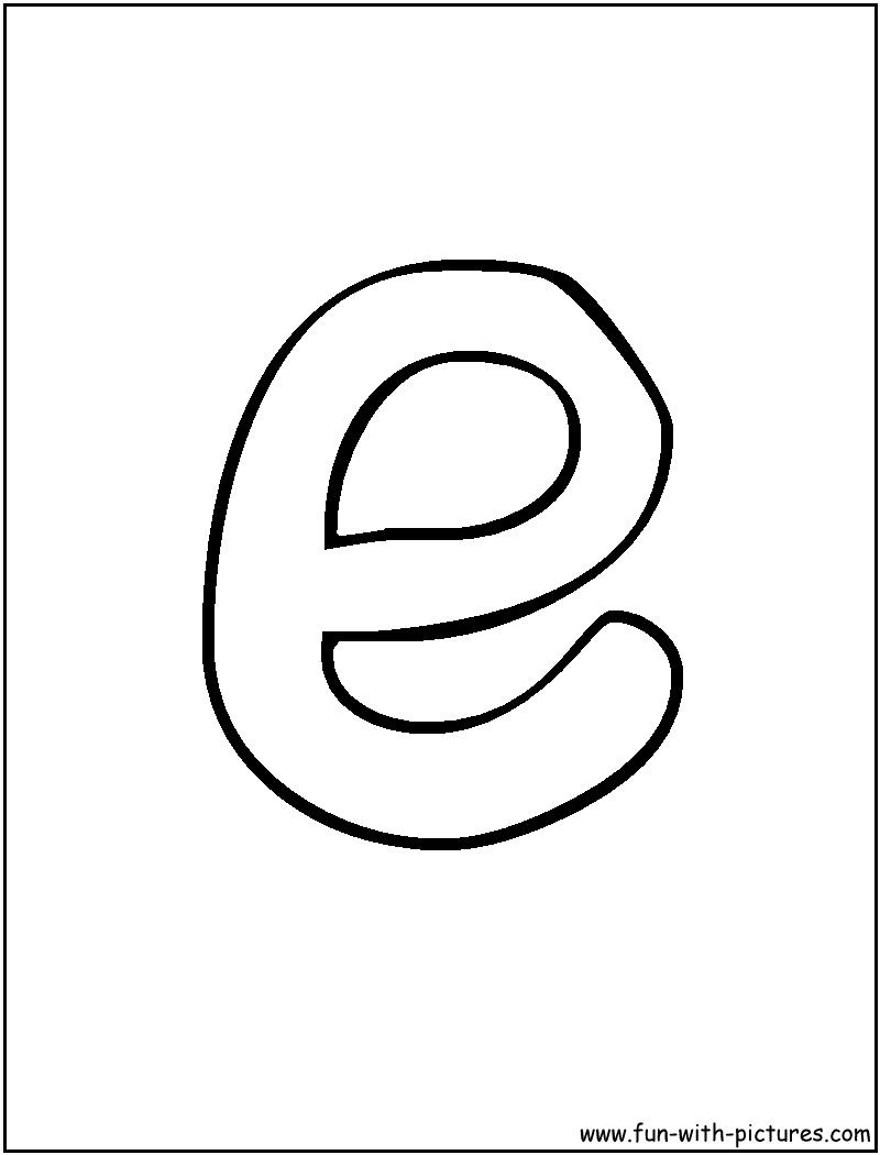 bubble letter Colouring Pages