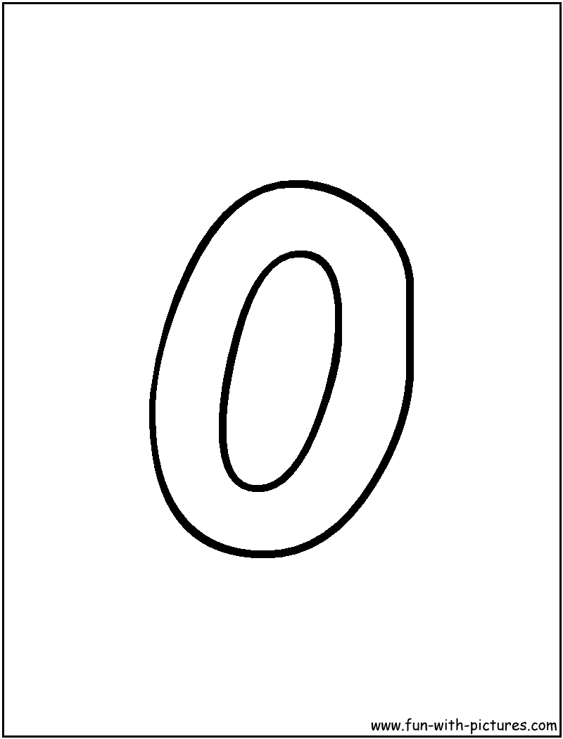 Letter o coloring pages - Bubble Letter O Coloring Page
