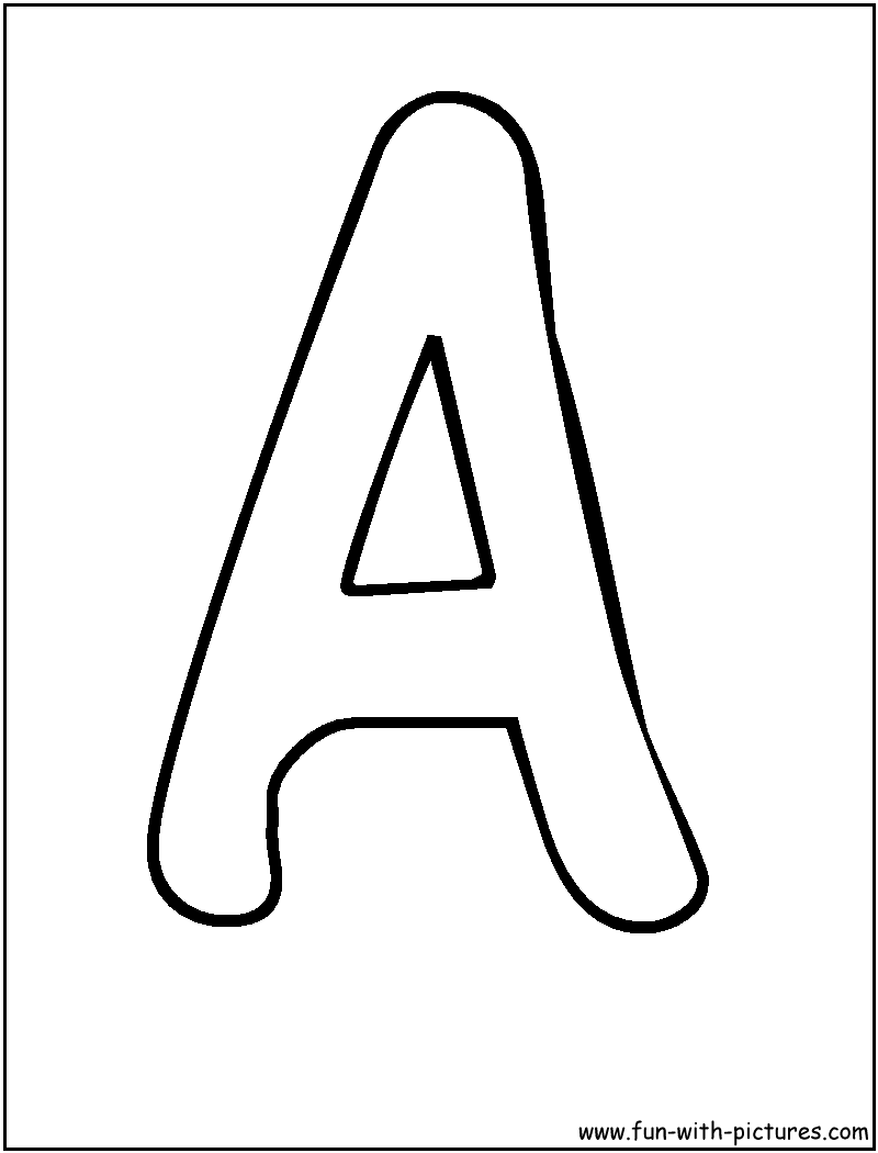 Bubble Letter Coloring Pages Free Printable Colouring Pages for