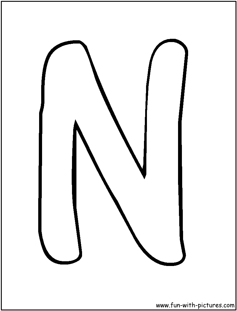 a bubble letter coloring pages - photo #42