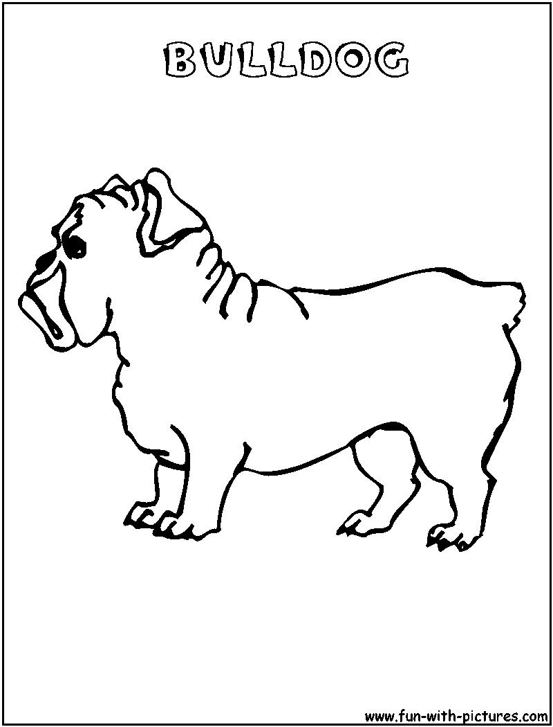 Free Coloring Pages Of Georgia Bulldog Mascot