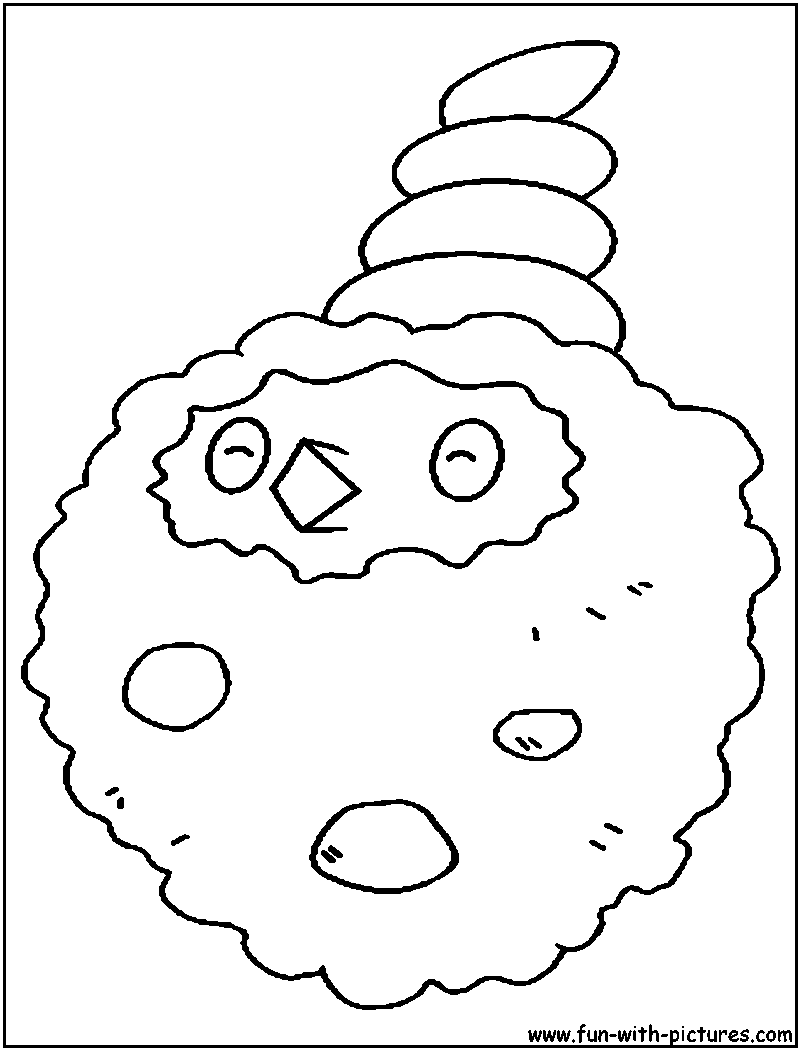 Burmy Sandy Coloring Page