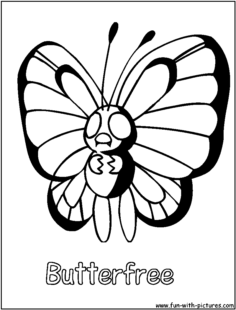butter free coloring pages - photo#11