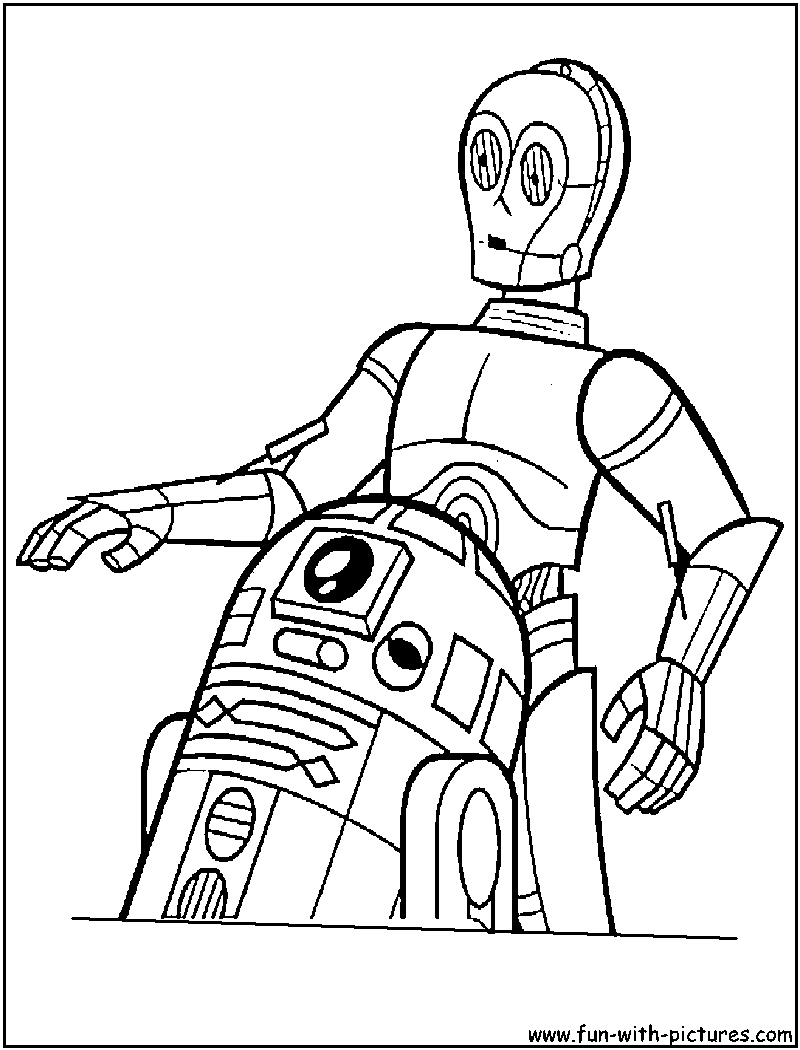 r2d2 coloring pages - photo #11