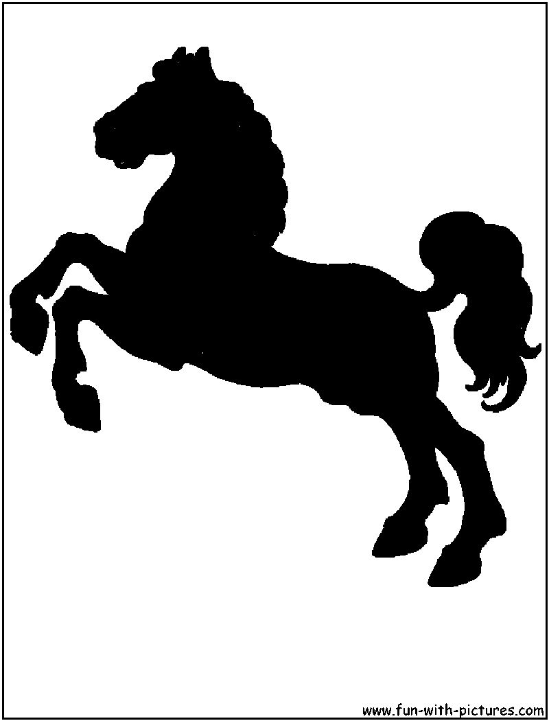 Carousel horse silhouette clip art - photo#9