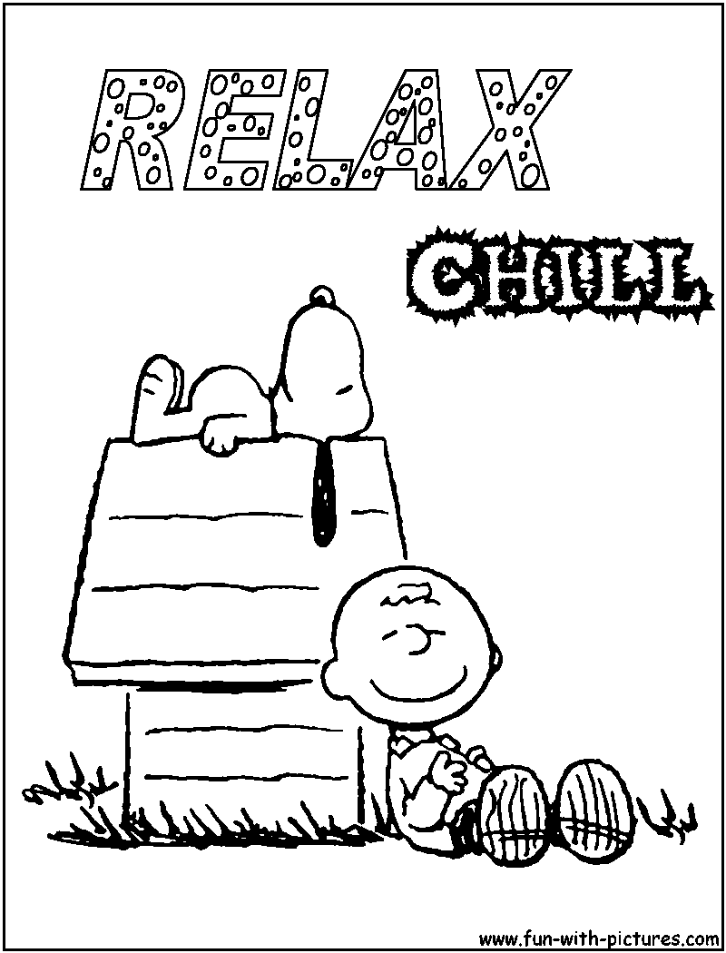 Peanuts Coloring Pages Free Printable Colouring Pages For Kids To