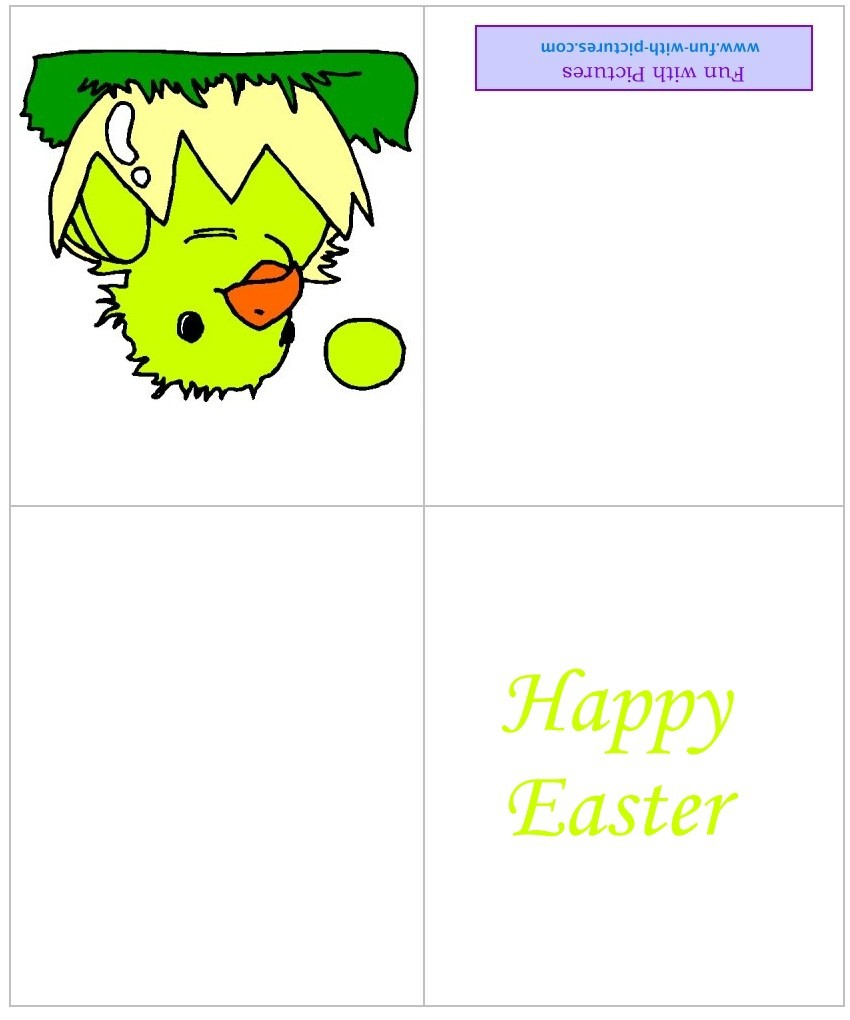 Printable Easter Cards And Free Greeting From Fun