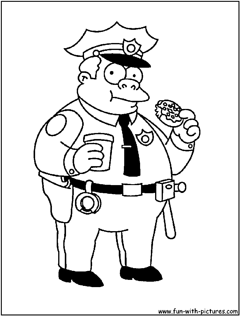 Simpsons Coloring Pages Free Printable Colouring Pages For Kids To