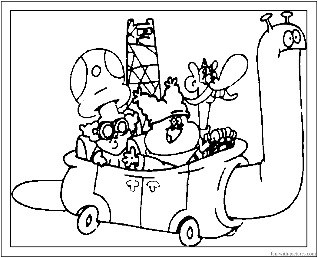 flapjack and chowder coloring pages - photo#20