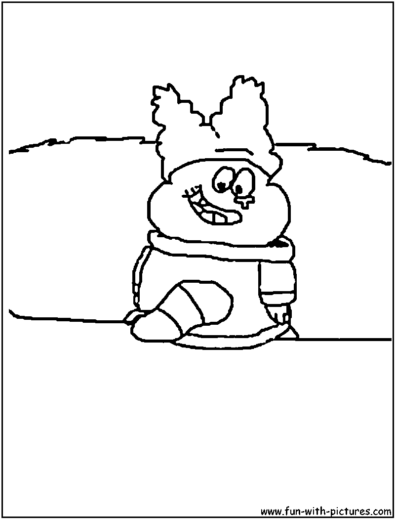 flapjack and chowder coloring pages - photo#9