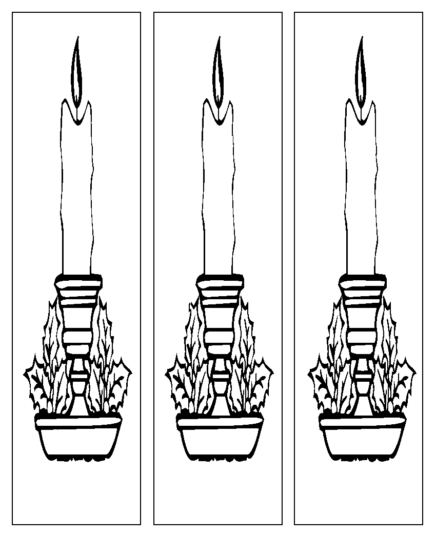 Bookmarks to color adults - Bookmarks Coloring Pages