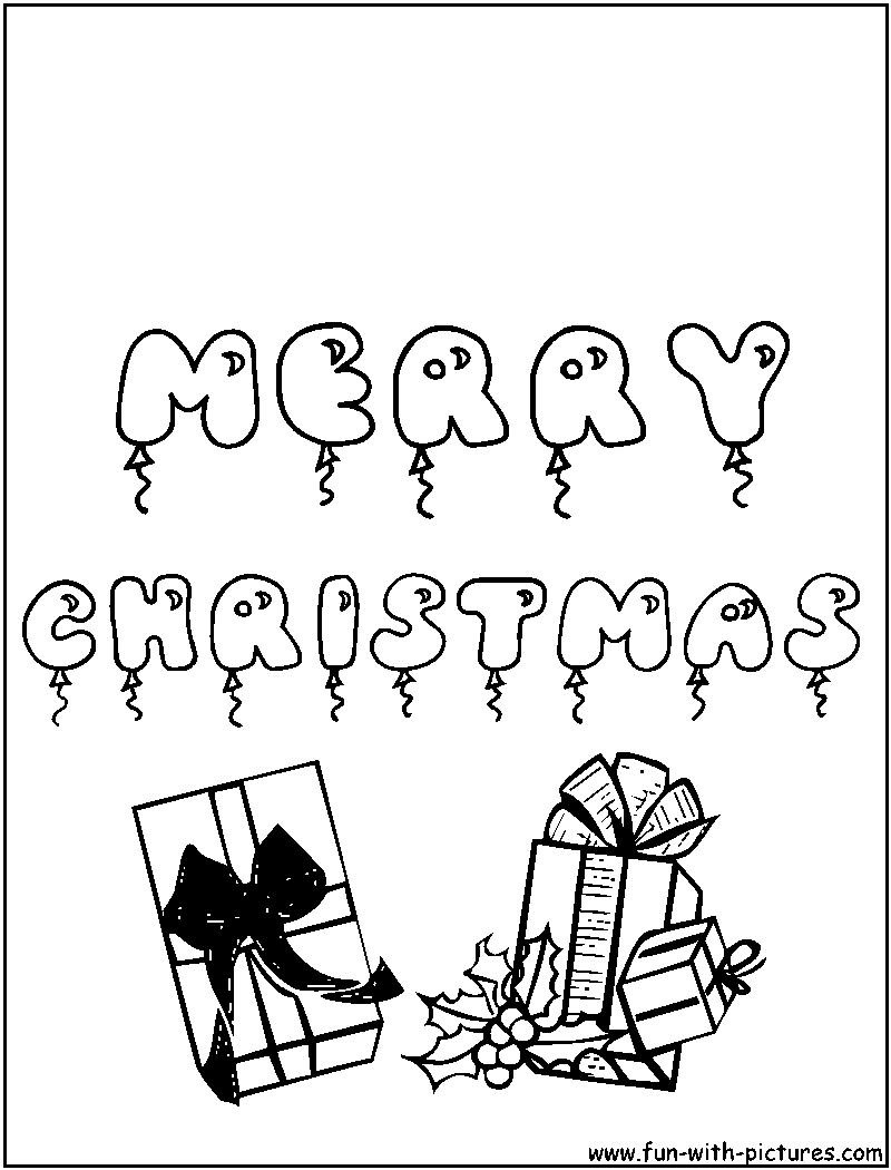 christmas greeting coloring pages-#28