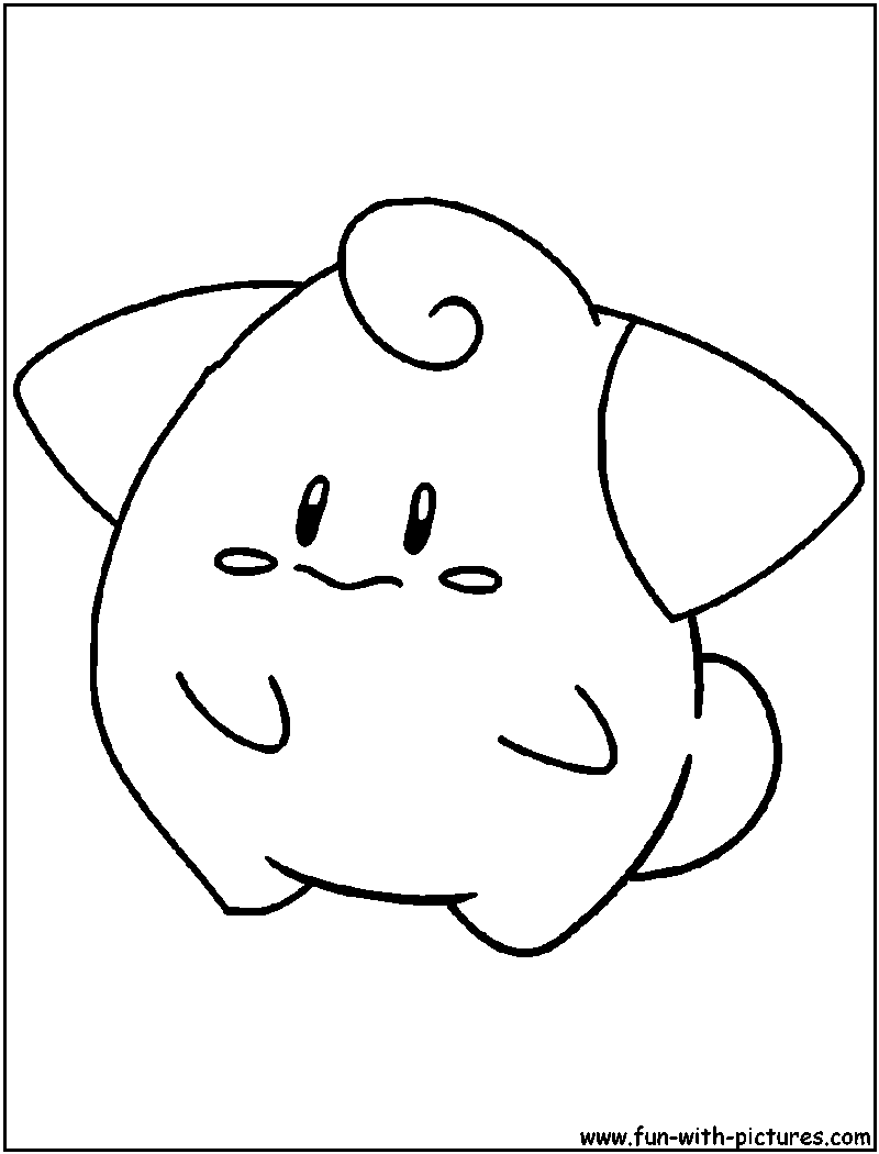 fairy pokemon coloring pages free printable colouring pages for