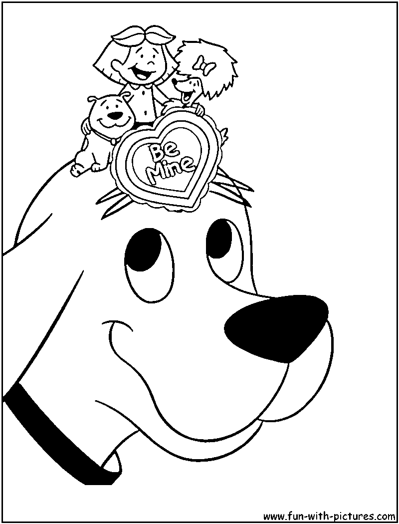 1000 Images About Clifford On Pinterest Author Studies Clifford Coloring Page
