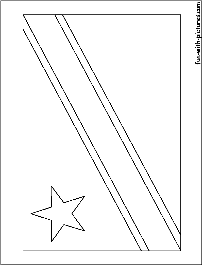 fiji flag coloring pages - photo#32