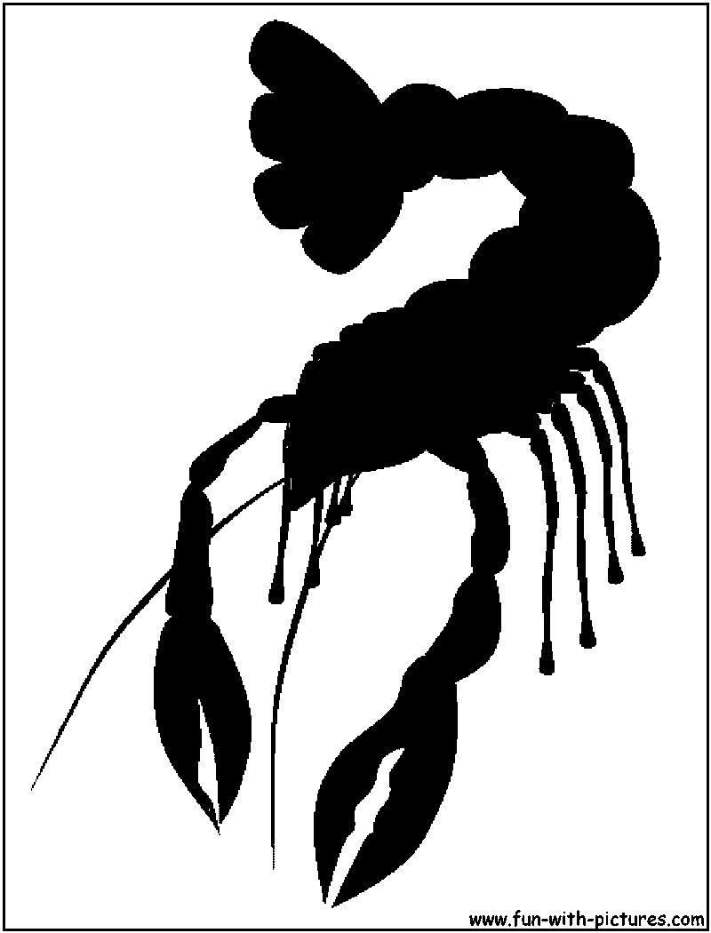 Crawfish Outline Boil Pinterest