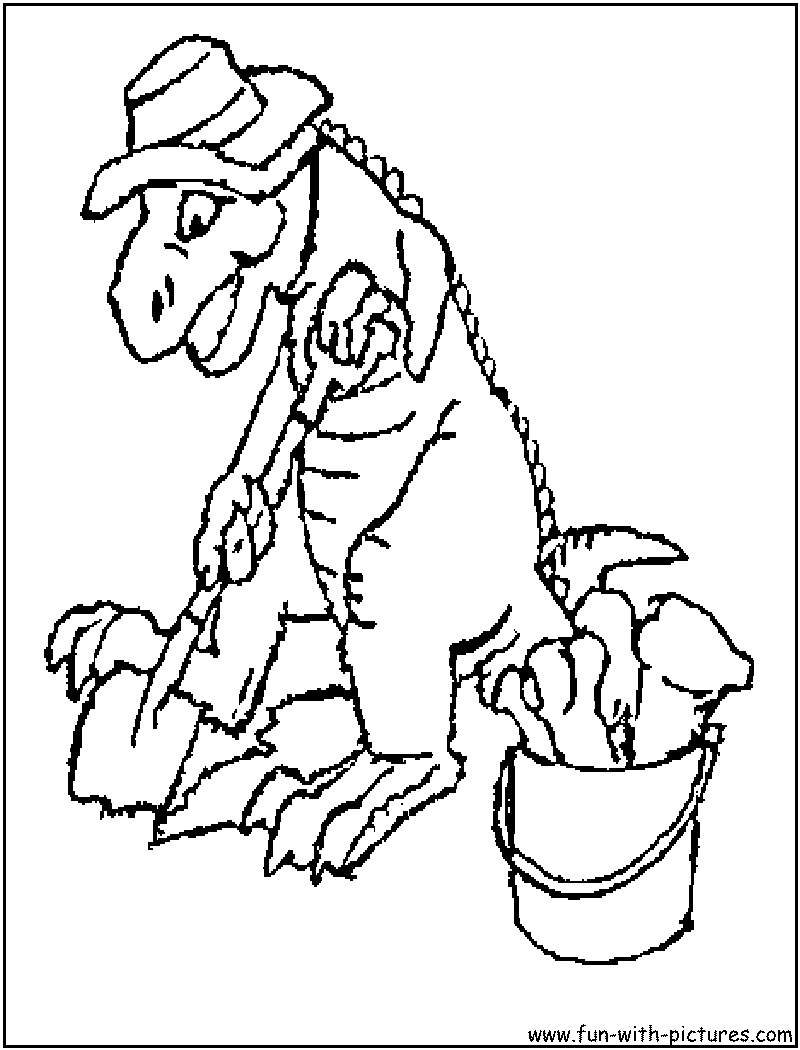 Dinosaurs Coloring Pages - Free Printable Colouring Pages for kids ...