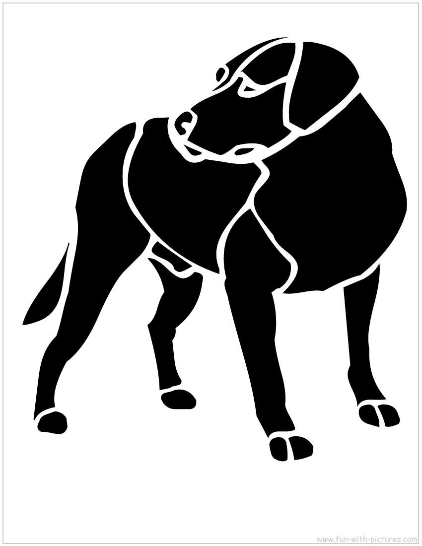 Dog Stencil