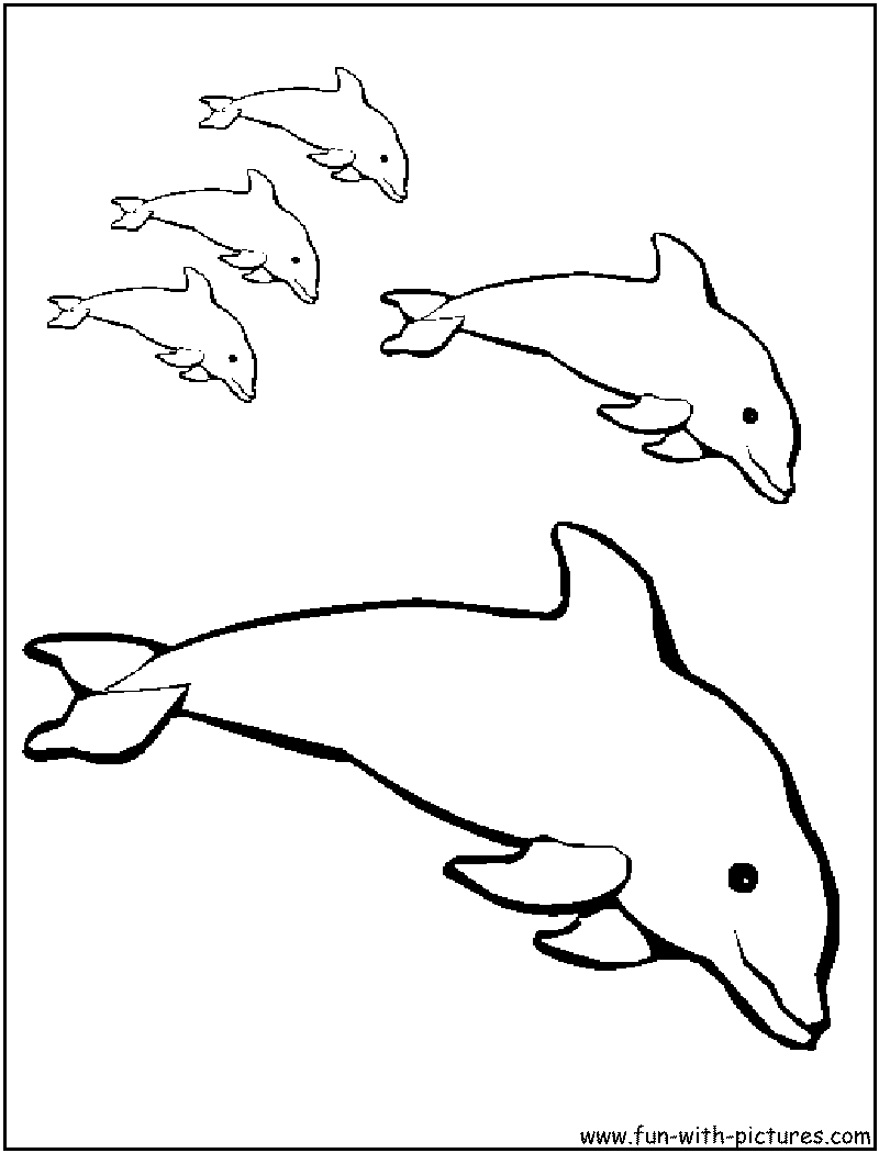 Coloring Pages Of Mermaids And Dolphins #10