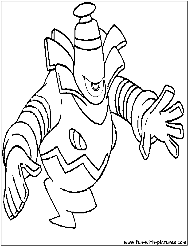 dusknoir pokemon coloring pages - photo#4