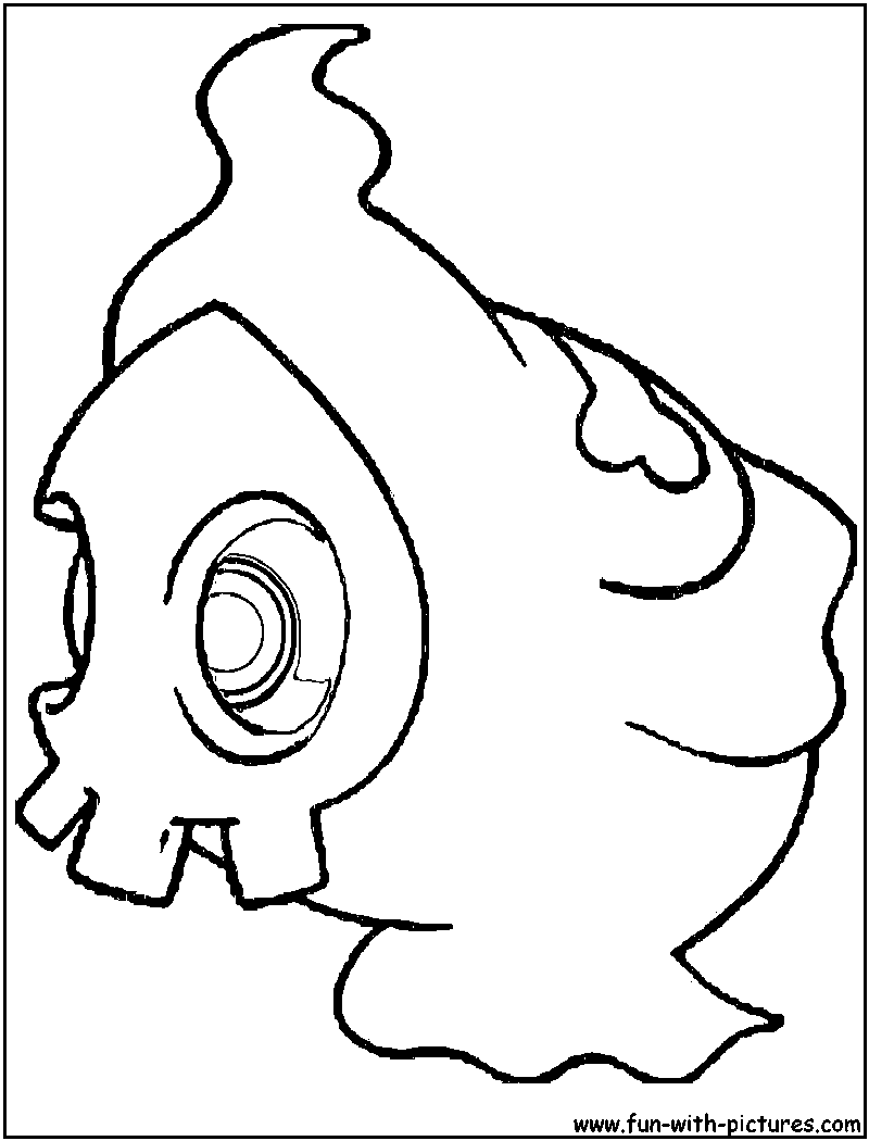 duskull pokemon coloring pages - photo#4