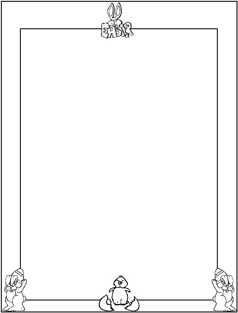 page border coloring pages - photo #29