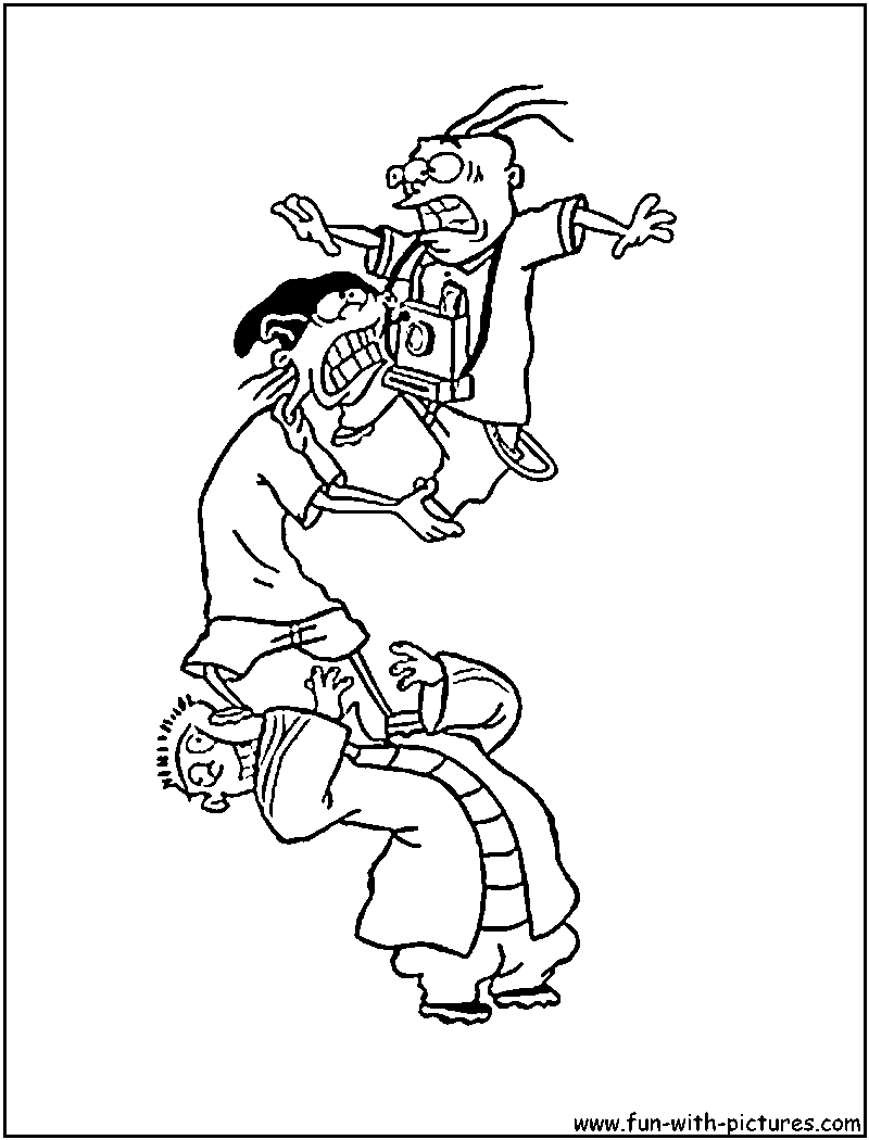 Ed Edd And Eddy Coloring Page Ed Edd N Eddy Coloring Pages