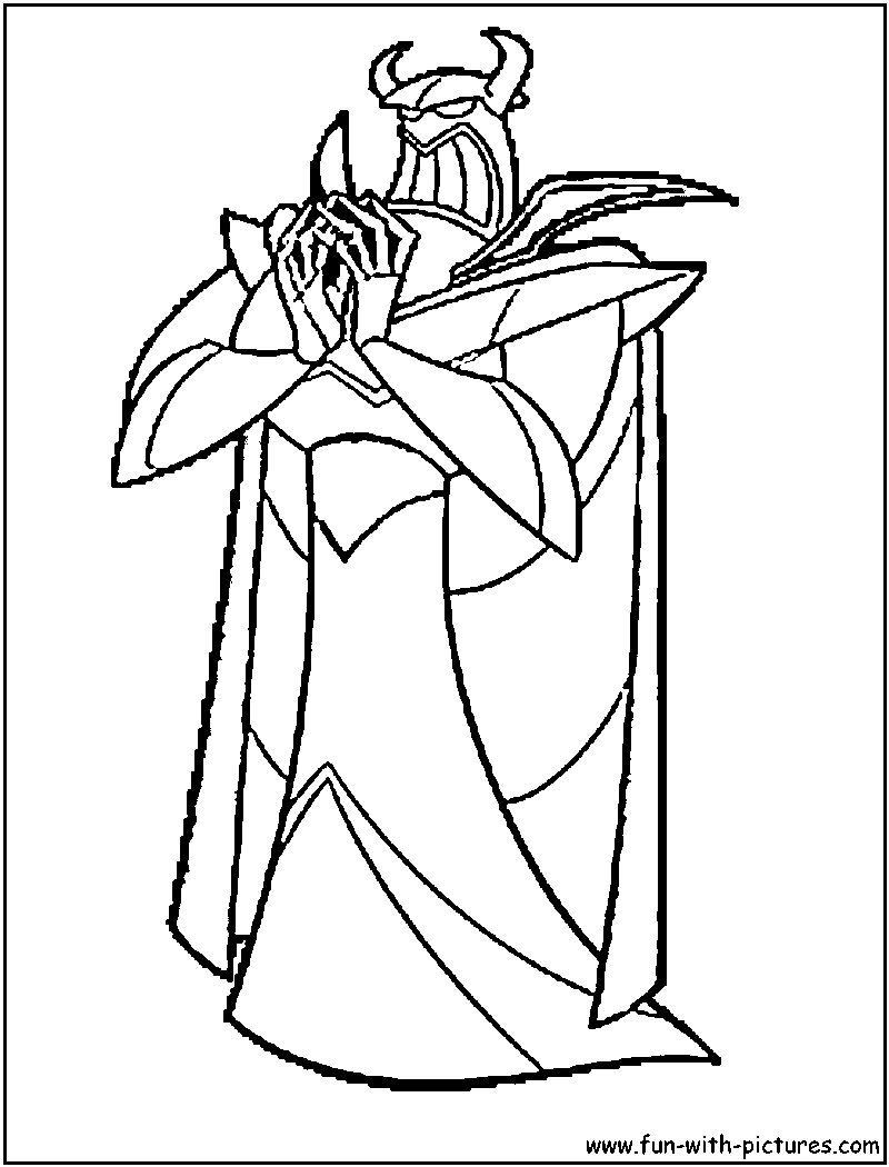 Coloring pages toy cars - 5 Emperor Zurg Coloring Page Of Emperor Zurg From Toy Story