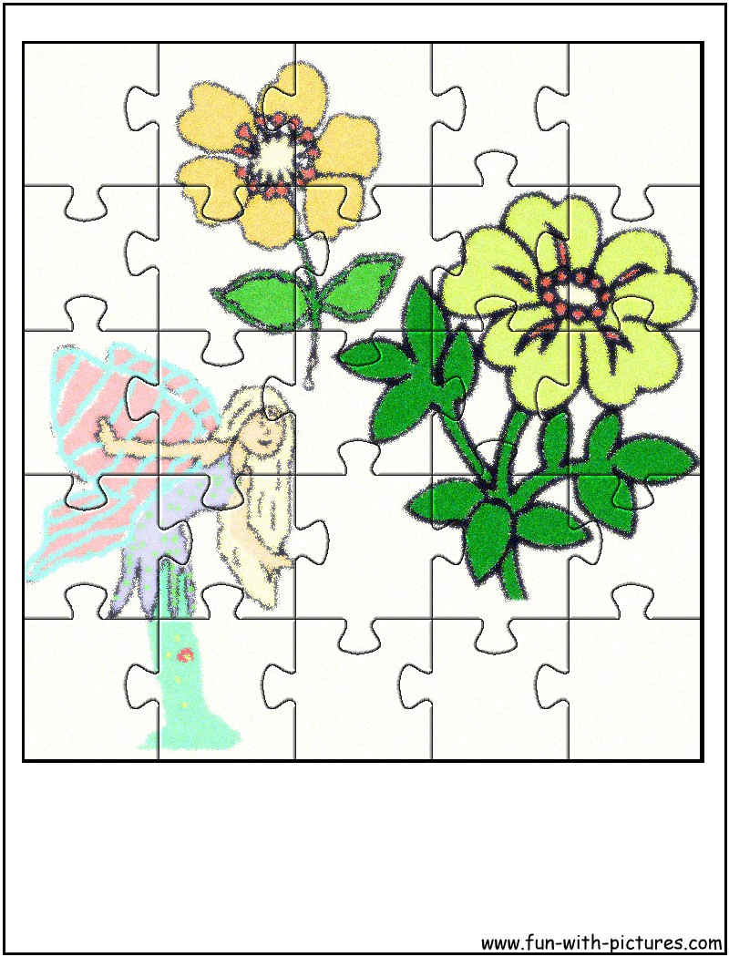 Flower Fairy Jigsaw