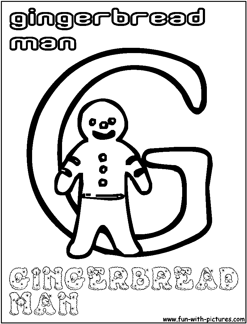 Xmasalphabets Coloring Pages