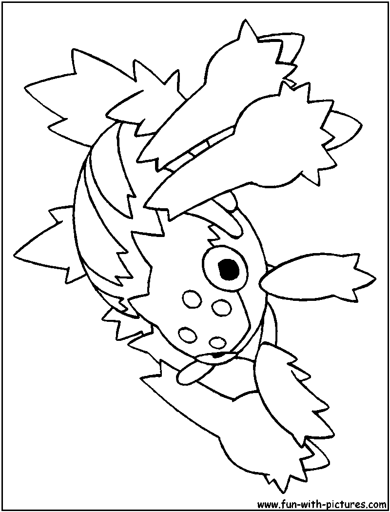 Pokemon coloring pages popplio - Gallery Of Pokemon Coloring Pages Incineroar