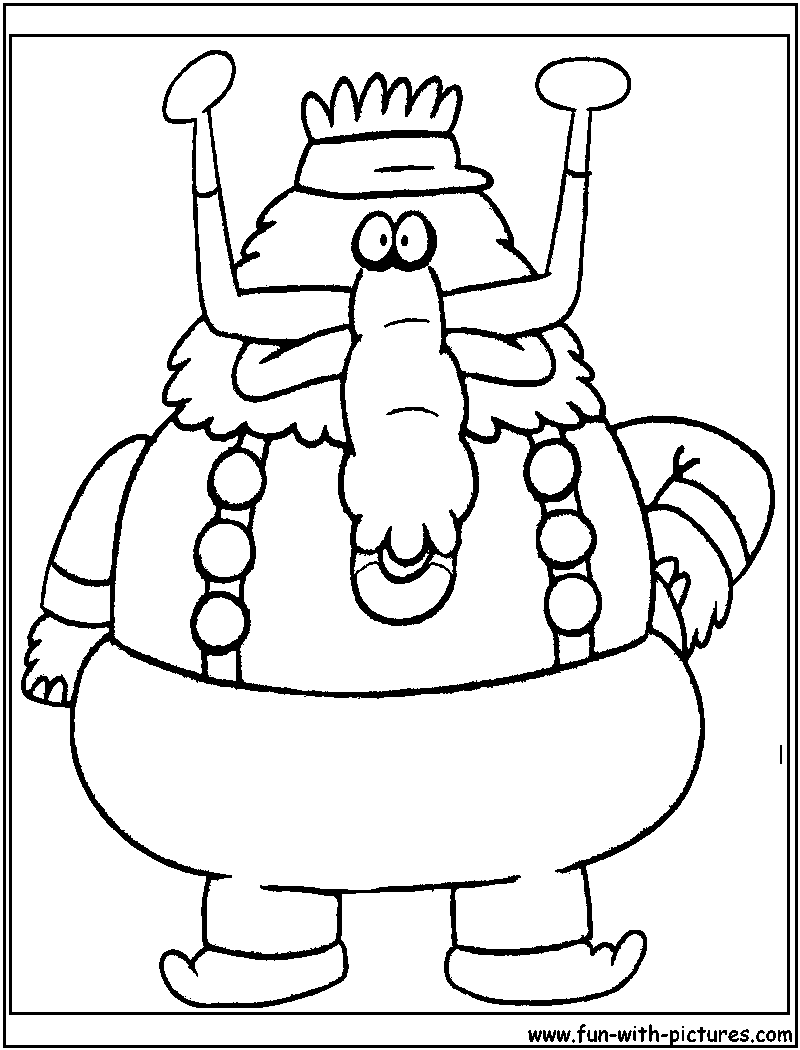 flapjack and chowder coloring pages - photo#18