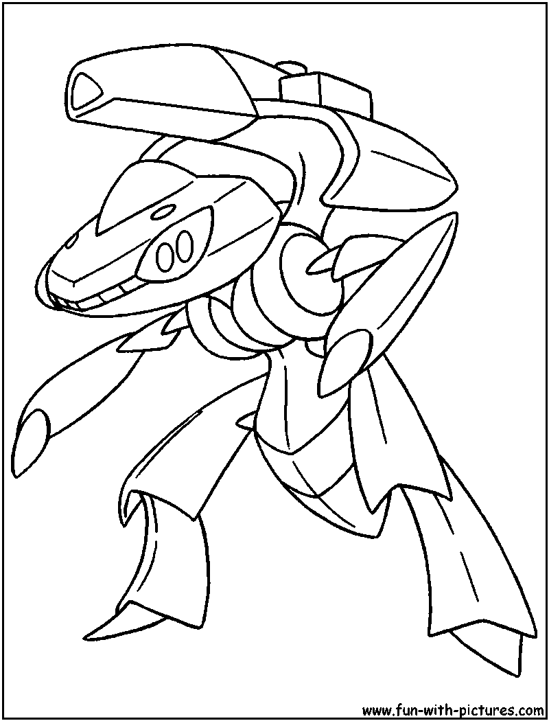 pokemon dragon coloring pages - photo#40