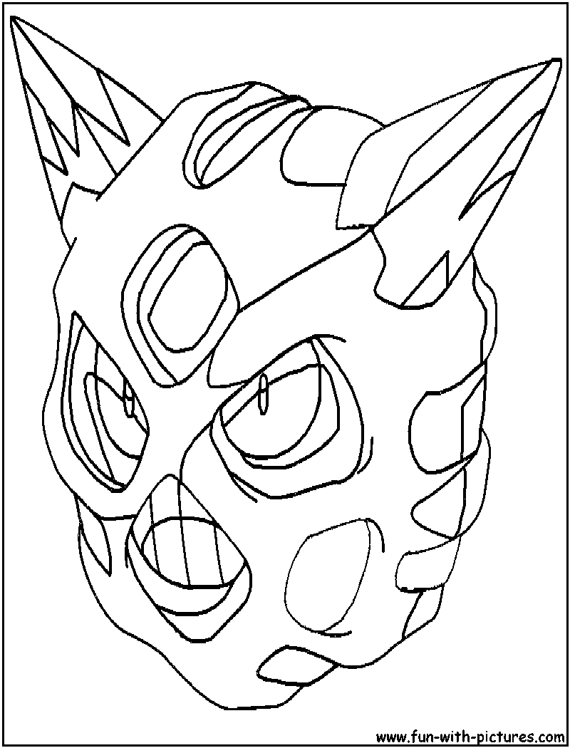 Ice Pokemon Coloring Pages Free