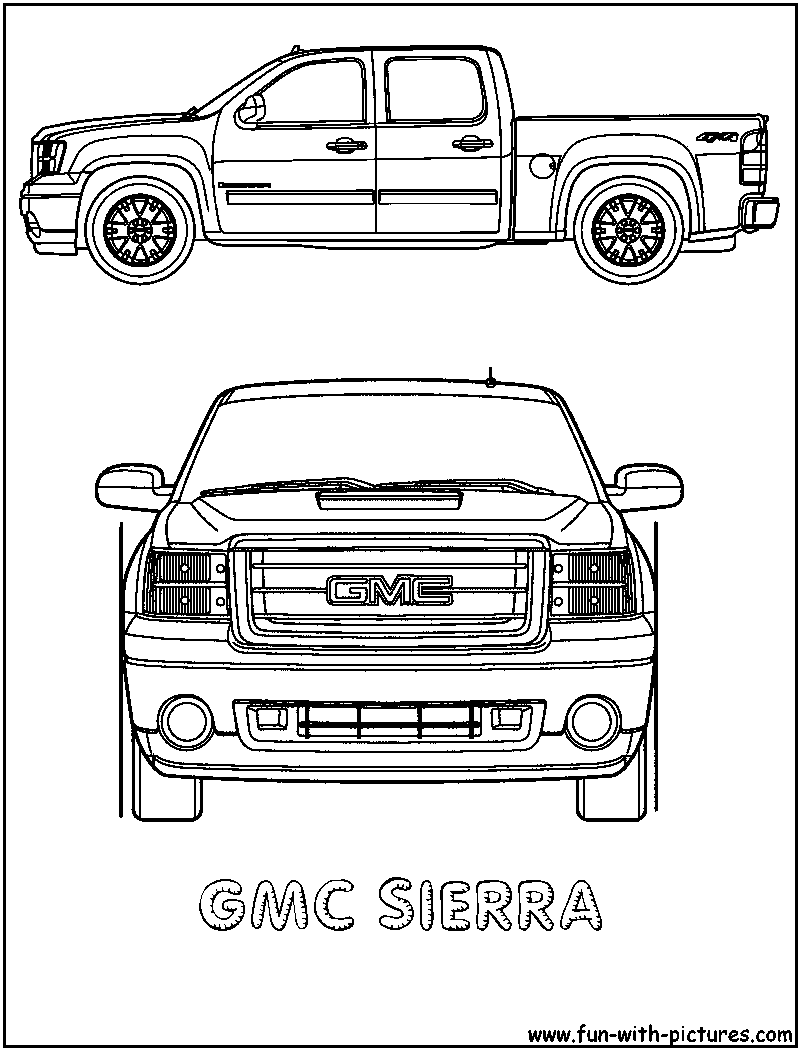 1962 truck coloring pages