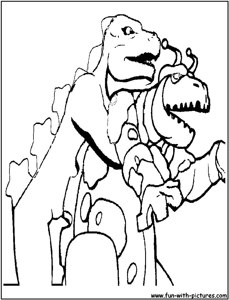 godzillamonster coloring page