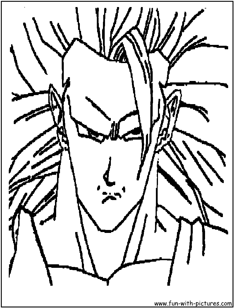 dragonballz coloring pages free printable colouring pages for kids to print and color in